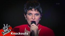 Έφη Ραυτοπούλου - I have nothing | 1o Knockout | The Voice of Greece