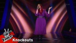 Άννα Σαράντη - Το δικό σου το μαράζι | 2o Knockout | The Voice of Greece
