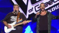 Το show του Δημήτρη Σταρόβα και του Πάνου Μουζουράκη | 2o Knockout | The Voice of Greece
