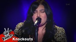 Έλενα Συμεωνίδου - Black Velvet | 1o Knockout | The Voice of Greece