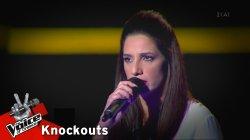 Χριστίνα Στυλιανού - Δι'ευχών | 1o Knockout | The Voice of Greece