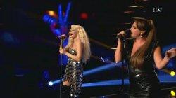Ταμτα & Έλενα Παπαρίζου - Be my lover | The Voice of Greece