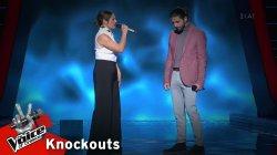 Θανάσης Κωνσταντινίδης, Ηλιάνα Χατζηιωαννίδου - Τόσα καλοκαίρια | 3o Knockout | The Voice of Greece