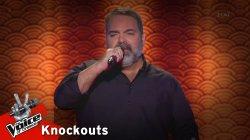 Αντώνης Τιτάκης - Τραγουδώ | 2o Knockout | The Voice of Greece