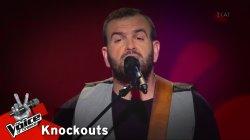 Γιώργος Τομπαζιάδης - Δεν υπάρχουνε λόγια | 1o Knockout | The Voice of Greece
