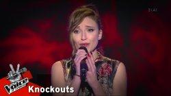 Στέλλα Τσαμπούκου - Ερωτικό | 1o Knockout | The Voice of Greece