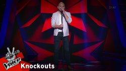 Φώτης Τσέρκας - Λέξεις | 2o Knockout | The Voice of Greece