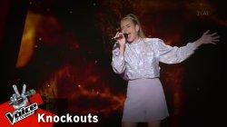 Έλενα Τσιγάρα - Tough Lover | 1o Knockout | The Voice of Greece