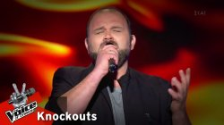 Μιχάλης Βασιλείου - Χιονάνθρωπος | 3o Knockout | The Voice of Greece