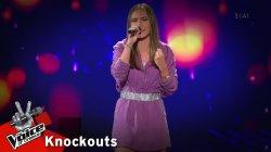 Νάντια Βασιλοπούλου - Because Of You | 2o Knockout | The Voice of Greece