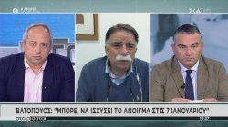 Βατόπουλος: Πιστεύω ότι αυτό θα είναι το τελευταίο lockdown