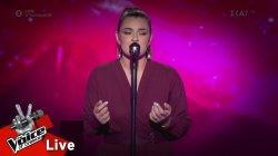 Φωτεινή Ανδρουλιδάκη - Αερικό | 1o Live | The Voice of Greece