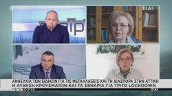 Ανησυχία των ειδικών για τις μεταλλάξεις, τη διασπορά στην Αττική και τα σενάρια για τρίτο lockdown