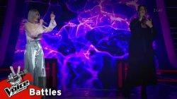 Δέσποινα Δημητρίου vs Ιωάννα Γεωργακοπούλου - Big in Japan | 2o Battle | The Voice of Greece