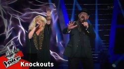 Snjezana & Damir - Spente Le Stelle | 4o Knockout | The Voice of Greece