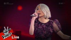 Ιωάννα Γεωργακοπούλου - Wicked Game| 1o Live | The Voice of Greece