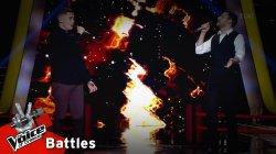 Βαγγέλης Καραμπάσης vs Νίκος Παπουτσής - Γωνιά γωνιά | 2o Battle | The Voice of Greece