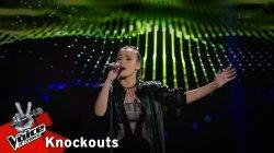 Νάντια Ιαρατζούλι - Wrecking ball | 4o Knockout | The Voice of Greece