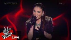 Νάντια Ιαρατζούλι - Take me to church | 2o Live | The Voice of Greece