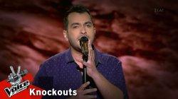 Δημήτρης Κίκλης - Μη μ' αφήνεις μη  | 4o Knockout | The Voice of Greece