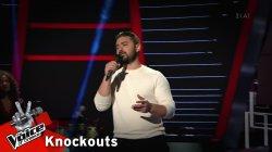 Μανώλης Κοντοπάνος - Ήτανε λάθος μου | 4o Knockout | The Voice of Greece