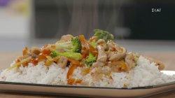 Stir fry με κοτόπουλο