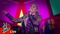 Κωνσταντίνα Κούτρα - Hallucinate | 2o Live | The Voice of Greece