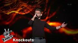 Σταύρος Κρητικός - Αγάπα με | 4o Knockout | The Voice of Greece