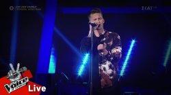 Θάνος Λάμπρου - Someone like you | 2o Live | The Voice of Greece