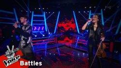 Σπύρος Βραχλιώτης vs Ειρήνη Περικλέους - Location | 2o Battle | The Voice of Greece