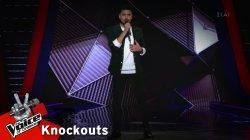 Σταμάτης Λύκος - Drag Me down | 4o Knockout | The Voice of Greece