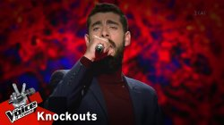 Μανώλης Μακρόγλου - Του κάτω κόσμου τα πουλιά | 4o Knockout | The Voice of Greece