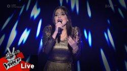 Γεωργία Μανή - Μιλάω για σένα | 1o Live | The Voice of Greece