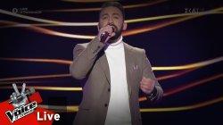 Νίκος Νικολαΐδης - Σ' αγαπώ | 1o Live | The Voice of Greece