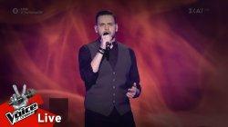 Νίκος Παπουτσής - Εκατό φορές κομμάτια | 2o Live | The Voice of Greece