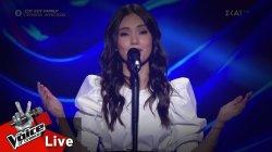 Ειρήνη Περικλέους - People help the people | 2o Live | The Voice of Greece