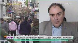 Σαρηγιάννης για Αττική: Μέχρι 5 Φεβρουαρίου θα υπάρχει αύξηση των κρουσμάτων