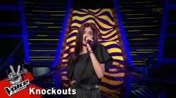 Μαρίνα Σαββίδου - Rolling in the Deep | 4o Knockout | The Voice of Greece