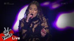 Κωνσταντίνα Τούνη - Φύσηξε ο Βαρδάρης | 1o Live | The Voice of Greece