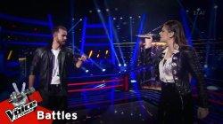 Κωνσταντίνος Δημητρακόπουλος vs Έλενα Τσιγάρα - Δεν έχει σίδερα η καρδιά σου | 1o Battle | The Voice of Greece