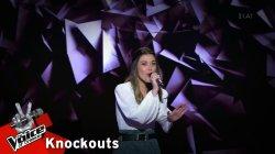 Ιωάννα Τσίρη - Κοίτα με | 4o Knockout | The Voice of Greece