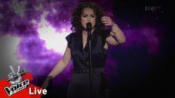 Αθηνά Βέρμη  - Τρένο | 1o Live | The Voice of Greece