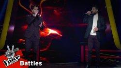 Μάριος Πασιαλής vs Μανώλης Μακρόγλου - Ξημερώνει | 2o Battle | The Voice of Greece