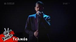 Κωνσταντίνος Δημητρακόπουλος -  Φύγε | Τελικός | The Voice of Greece
