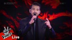 Κωνσταντίνος Δημητρακόπουλος - Μην φύγεις τώρα | Ημιτελικός | The Voice of Greece