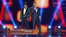 Το ντουέτο του Σάκη Ρουβά με τον Πάνο Μουζουράκη | Τελικός | The Voice of Greece