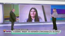 Η ασθενής μηδέν του κορωνοϊού στην Ελλάδα στο ΣΚ Παρέα