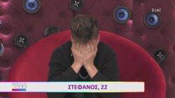 Τα δάκρυα του Στέφανου για τη σερί υποψηφιότητά του