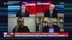 Η στιγμή του νέου σεισμού στην Ελασσόνα και οι αντιδράσεις των ανθρώπων