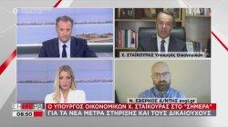 Χ. Σταικούρας: Για τα νέα μέτρα στήριξης και τους δικαιούχους